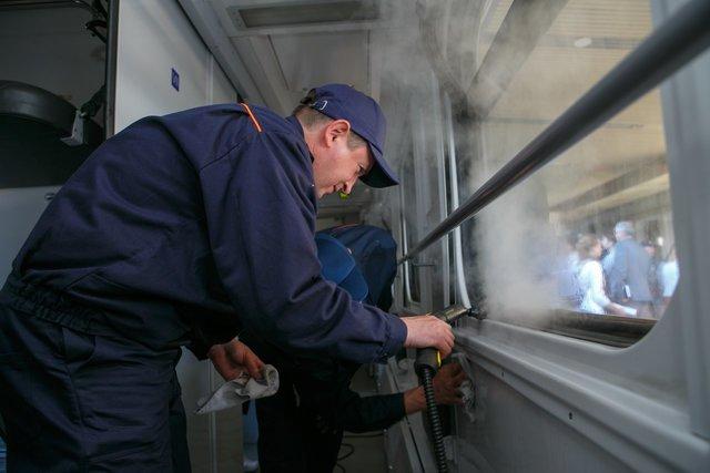 В Мариуполе ж/д вагоны будут мыть по новой технологии, - ФОТО, фото-2