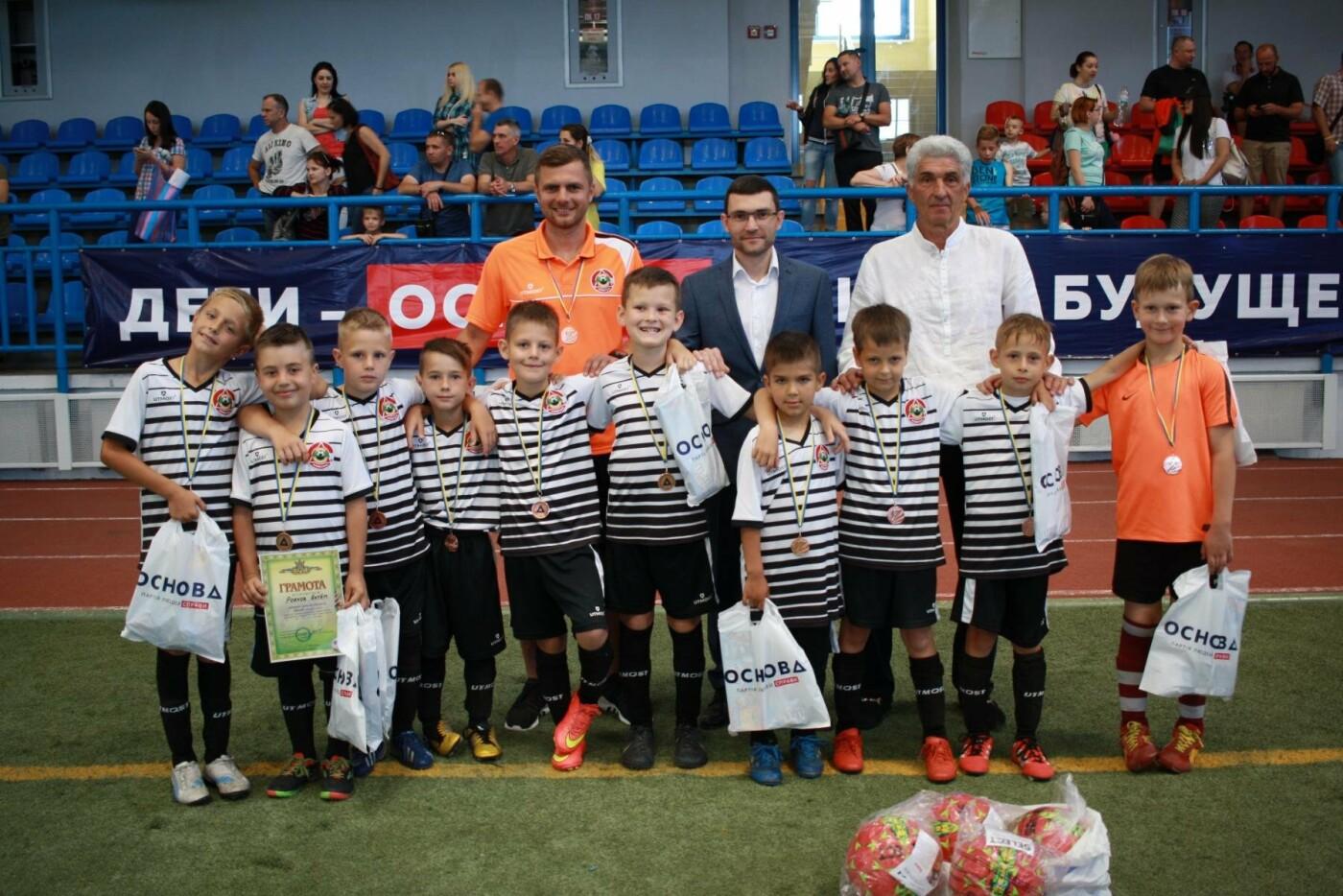 3 июня состоялось торжественное закрытие турнира по футболу под эгидой партии «ОСНОВА» г. Мариуполя, фото-2