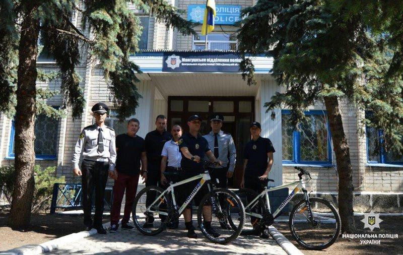 На улицах Урзуфа появился полицейский велопатруль, - ФОТО, фото-1