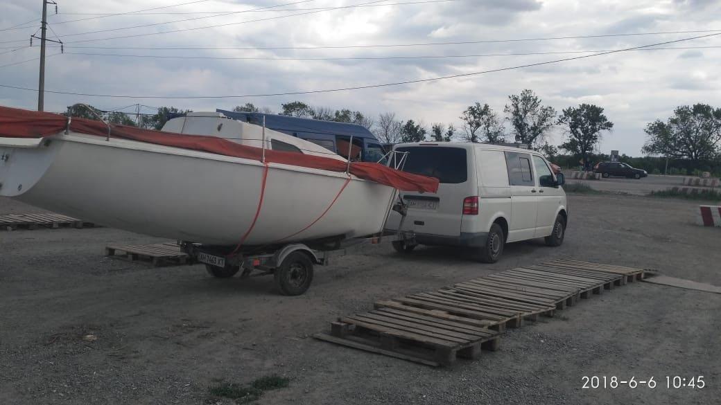 """Пограничники не пропустили из """"ДНР"""" в Мариуполь парусную яхту стоимостью 150 тысяч гривен, - ФОТО, фото-2"""