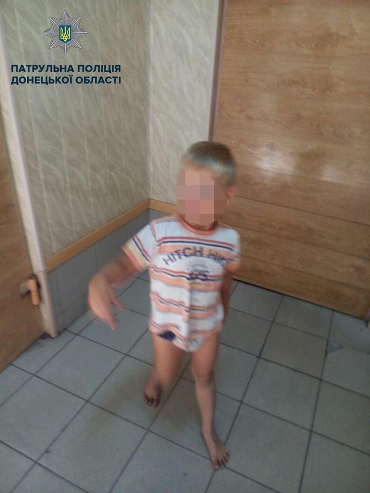 В Мариуполе на остановке нашли 5-летнего мальчика, - ФОТО, фото-1