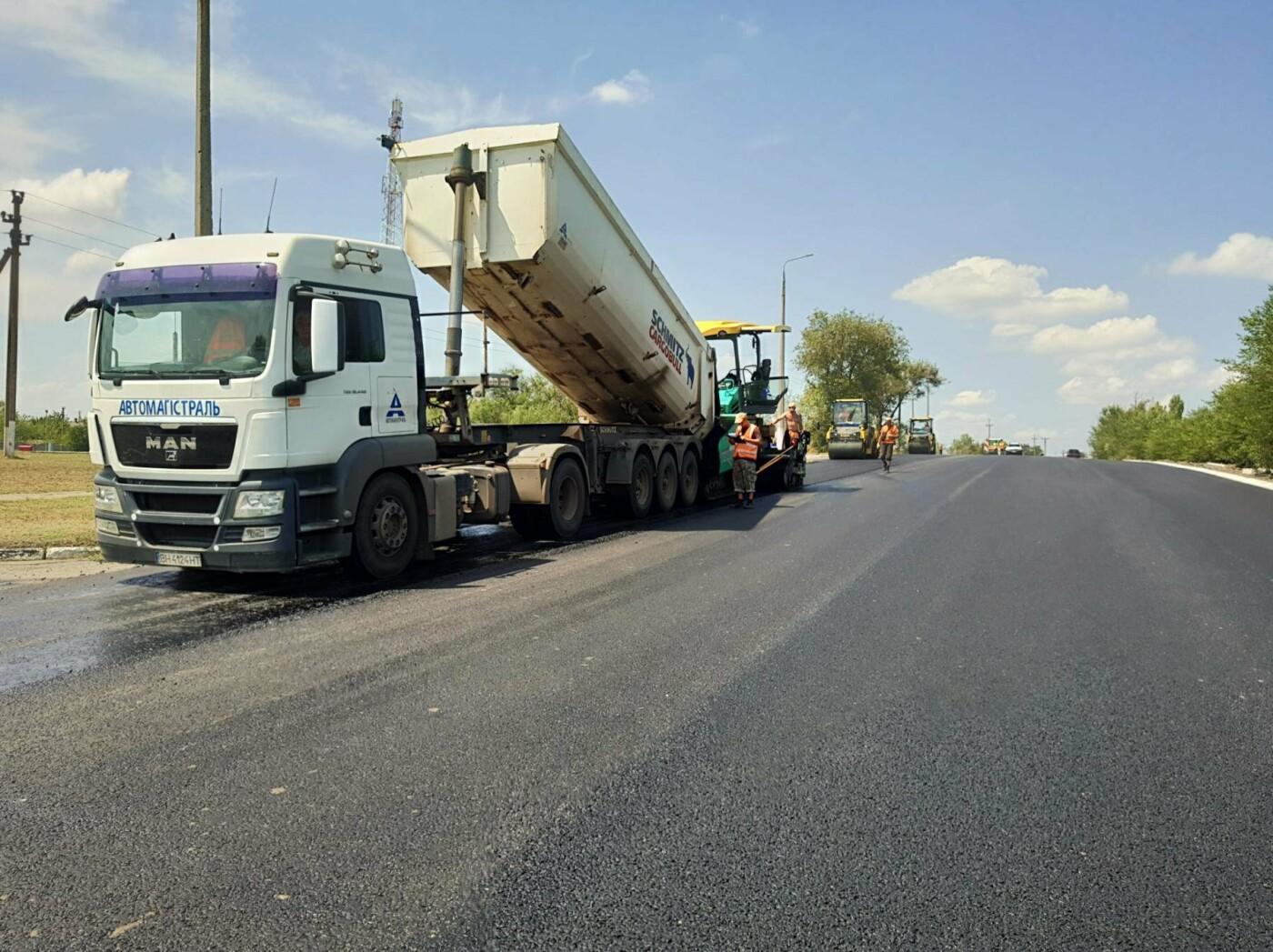 В Запорожской области ремонтируют трассу на Мариуполь, - ФОТО, фото-4