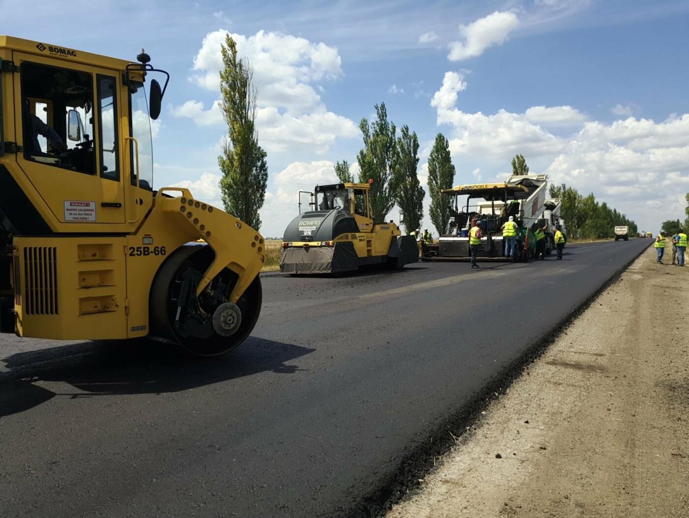 В Запорожской области ремонтируют трассу на Мариуполь, - ФОТО, фото-3