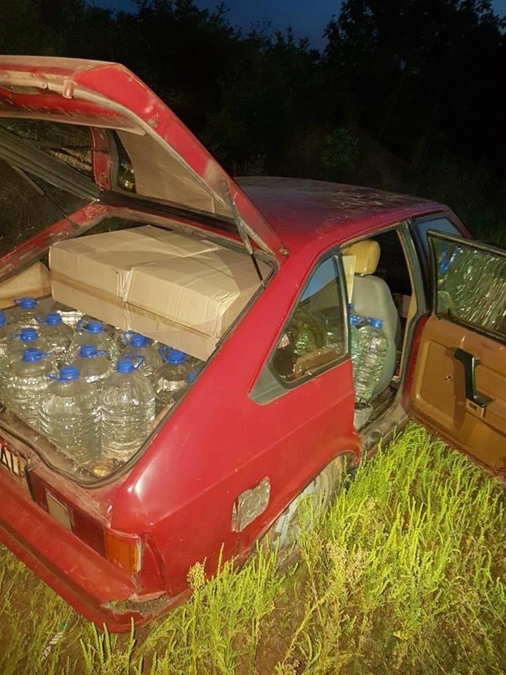 На Донбассе неизвестные бросили машину с контрабандой и сбежали в «ДНР», - ФОТО, фото-1