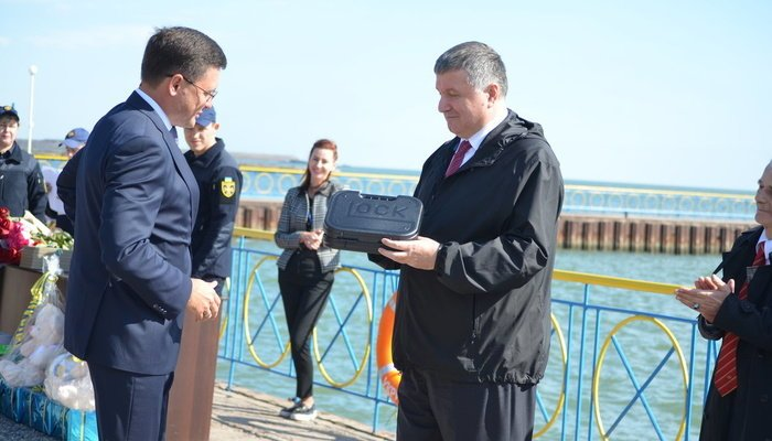 Аваков вручил наградное оружие мэру Мариуполя Бойченко, - ФОТО, фото-10