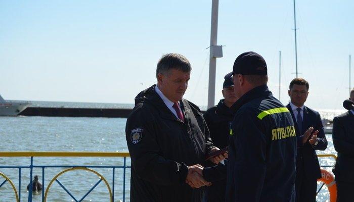 Аваков вручил наградное оружие мэру Мариуполя Бойченко, - ФОТО, фото-6