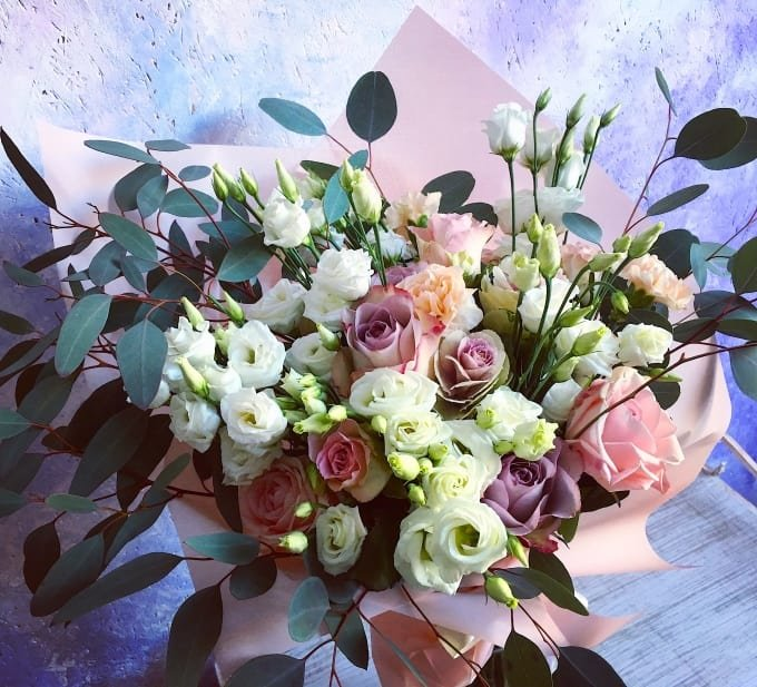 Букет цветов – самый лучший подарок во все времена