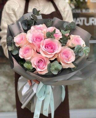 В цокольном этаже супермаркета Зеркальный открылся цветочный магазине INFLORE , фото-5