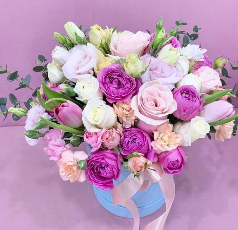 Где можно заказать красивый букет цветов к 8 марта? , фото-3