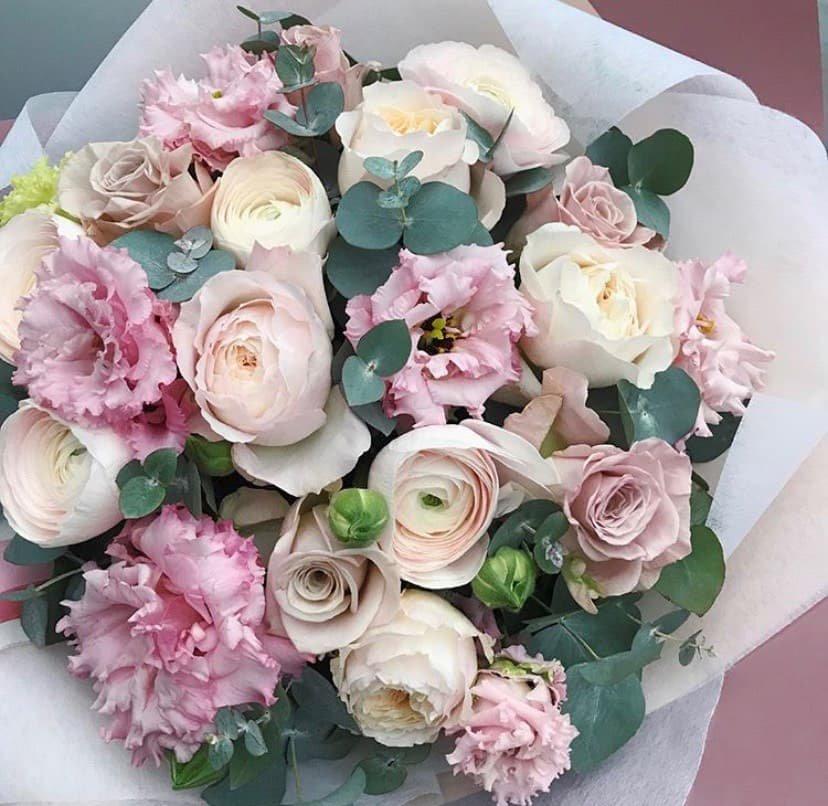 Где можно заказать красивый букет цветов к 8 марта? , фото-7