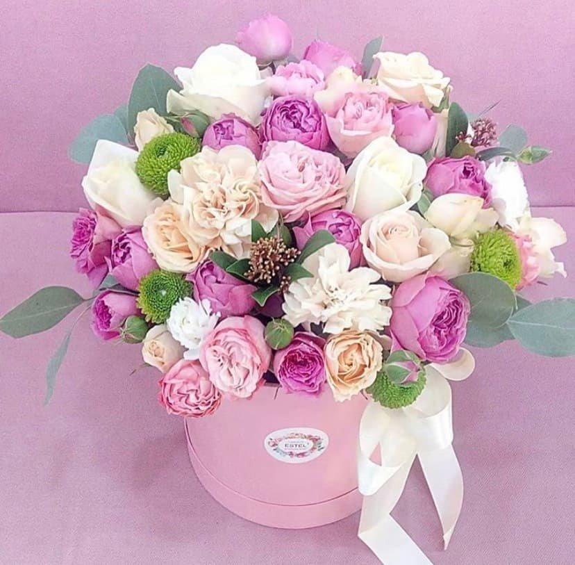 Где можно заказать красивый букет цветов к 8 марта? , фото-8