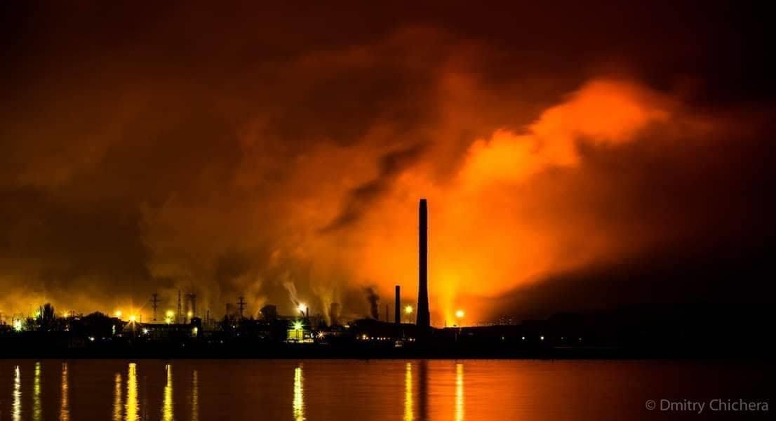 """Пожар на """"Азовстали"""": столб черного дыма и гигантское пламя, - ВИДЕО, ФОТО, ДОПОЛНЕНО, фото-6"""