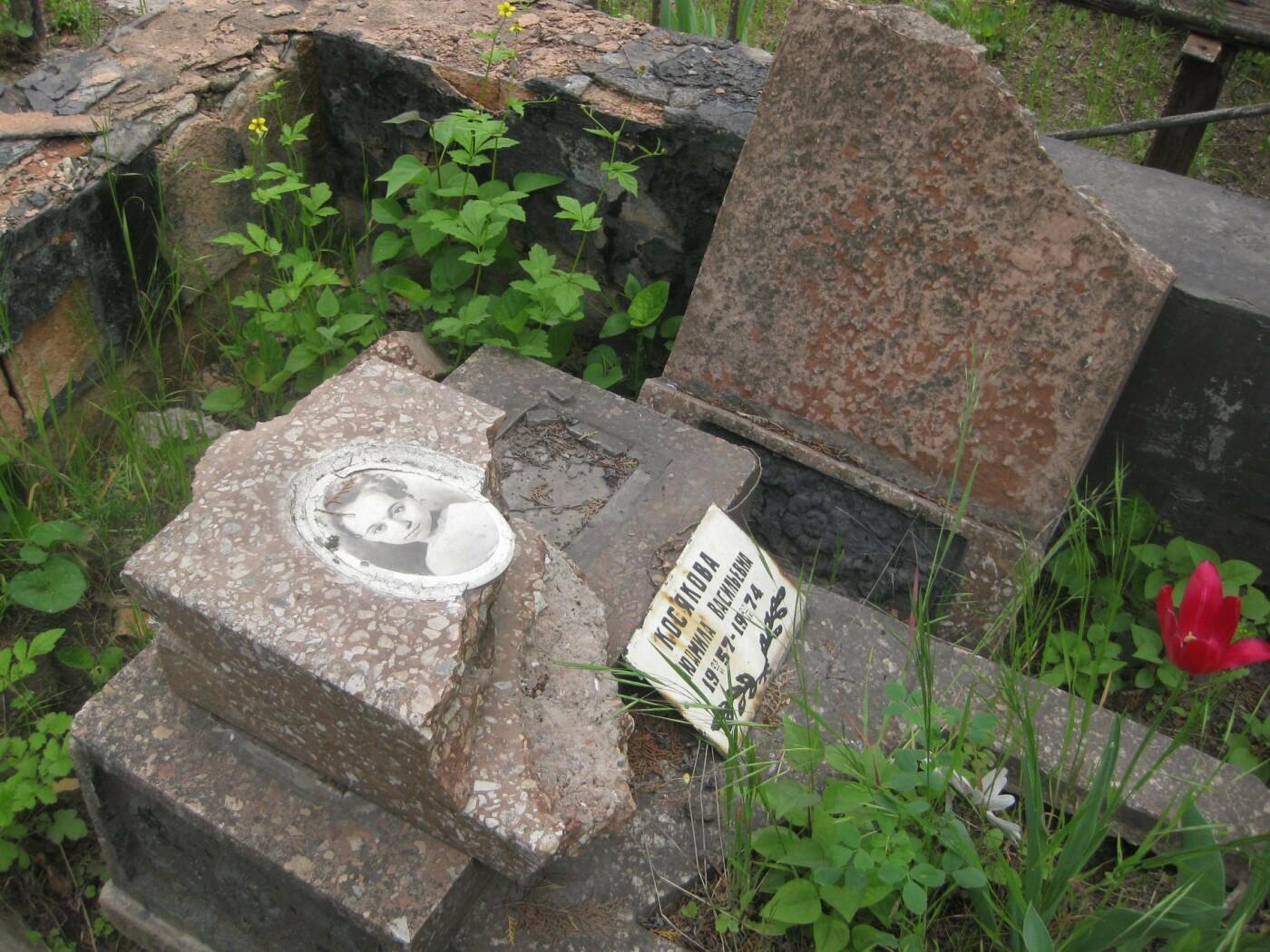 На мариупольском кладбище вандалы разрушили памятники, - ФОТОФАКТ, фото-1