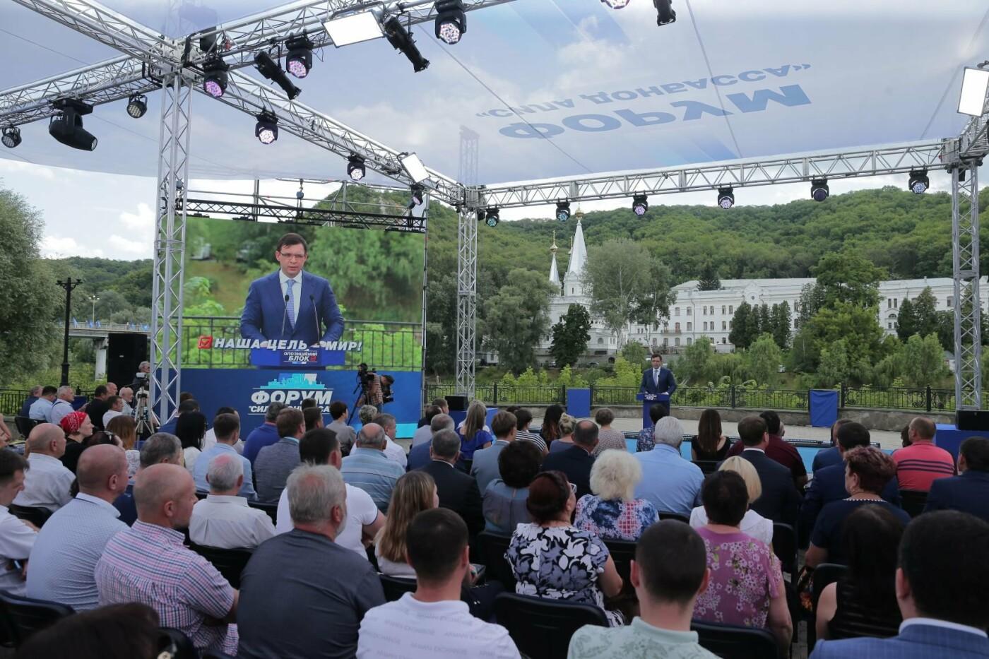 В Святогорске состоялся Форум Оппозиционного блока «Сила Донбасса» (ФОТО), фото-6
