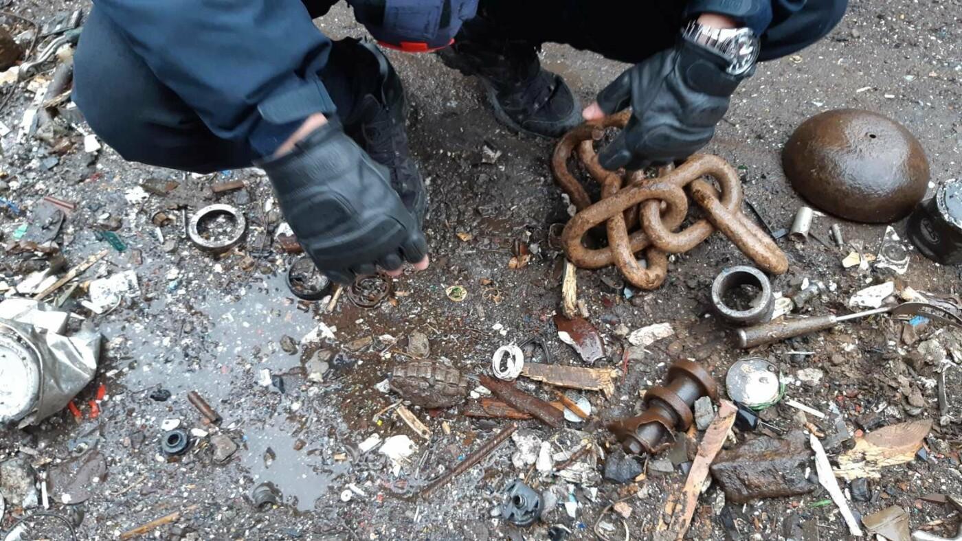 На мариупольском заводе нашли гранату, - ФОТО, фото-1