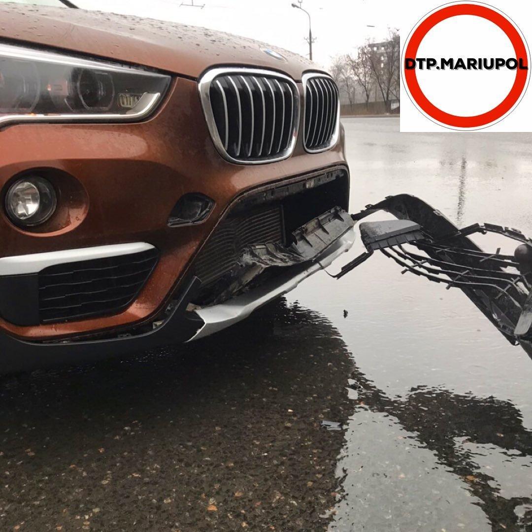 ДТП под дождем. В Мариуполе одновременно произошло 3 аварии, - ФОТО, фото-2