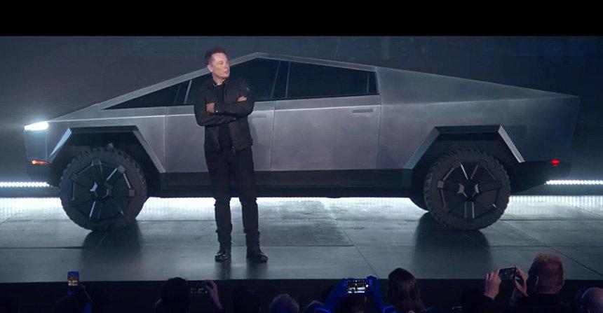 Пять инновационных фишек пикапа Tesla Cybertruck, фото-2
