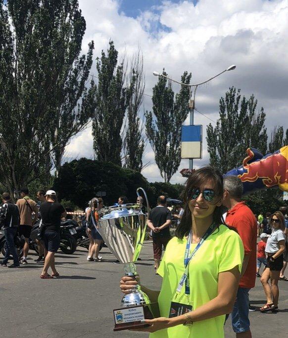 Катерина Наседкина, вице-президент Федерации автомобильной и автоспорта Донецкой области, - о  пятилетии Чемпионата Drag Racing, фото-1