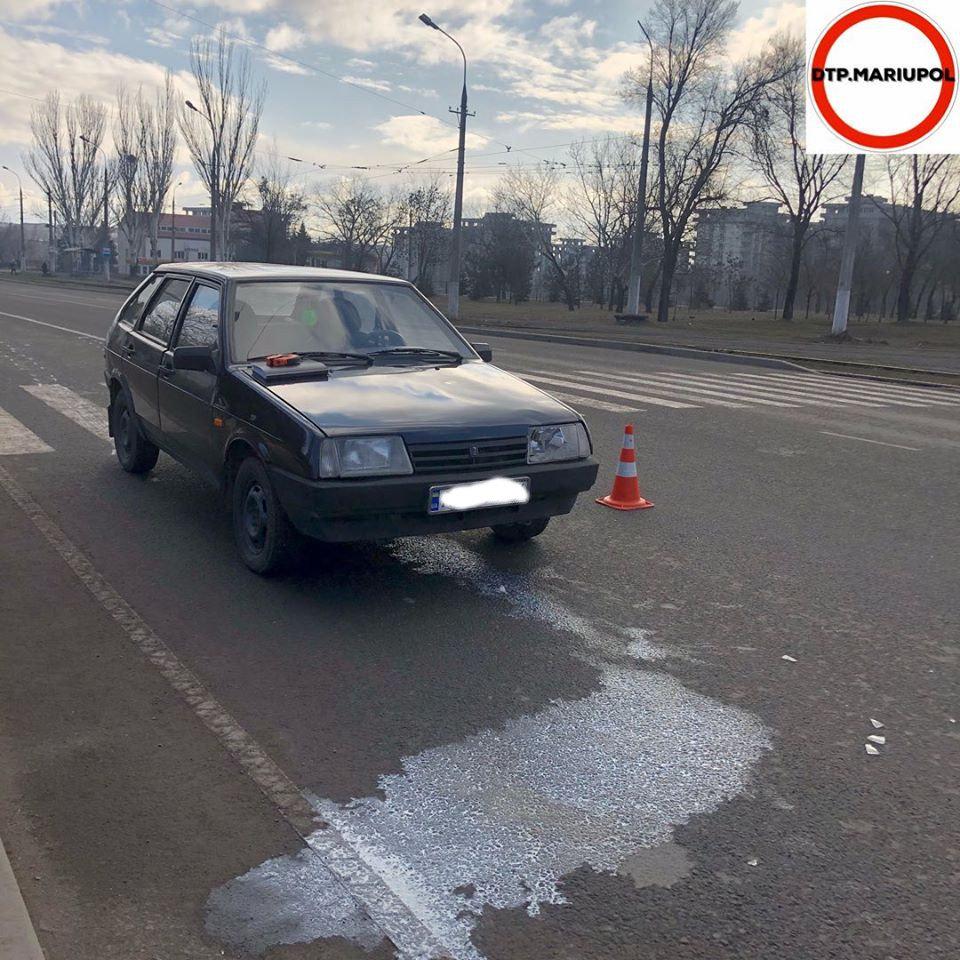 В Мариуполе ВАЗ сбил женщину-пешехода, - ФОТО, фото-4