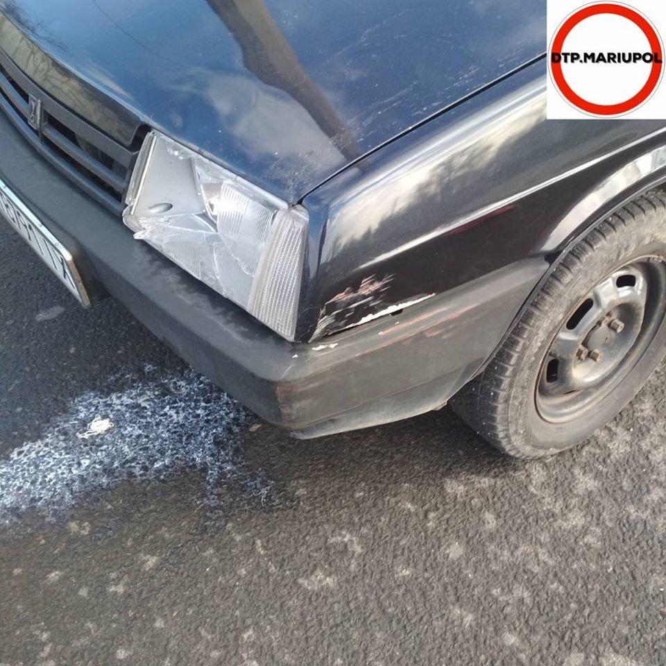 В Мариуполе ВАЗ сбил женщину-пешехода, - ФОТО, фото-2
