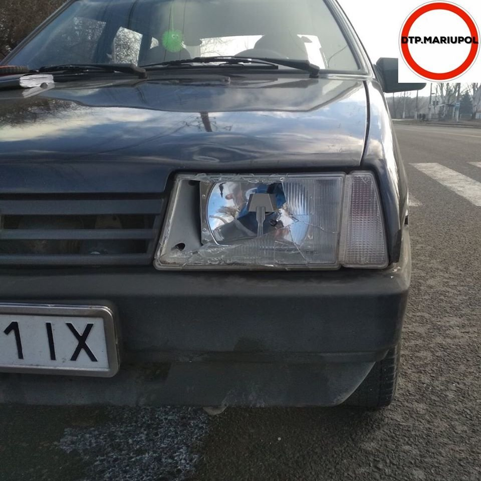 В Мариуполе ВАЗ сбил женщину-пешехода, - ФОТО, фото-3