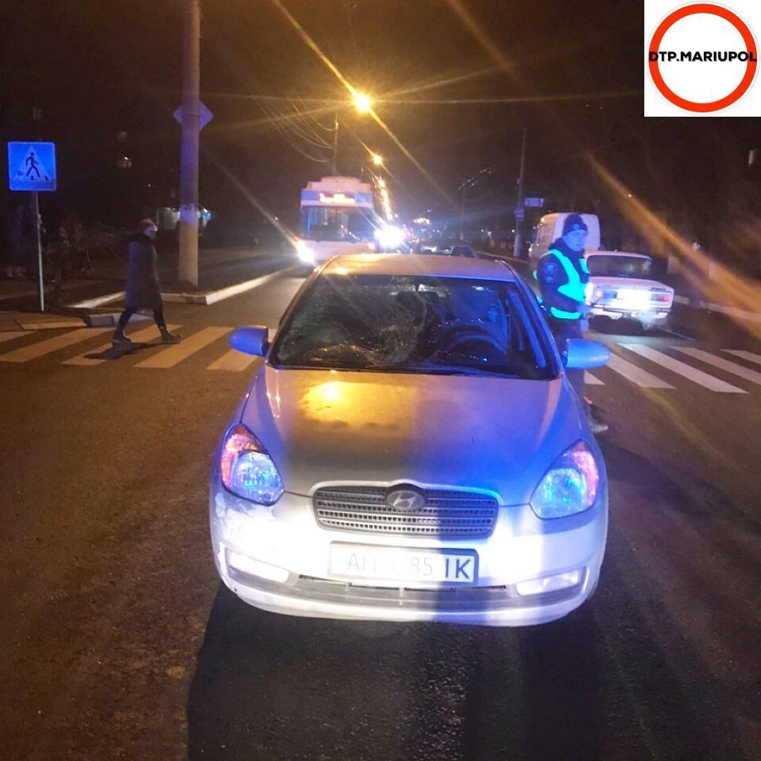 В Мариуполе на пешеходном переходе сбили мужчину, - ФОТО, фото-4
