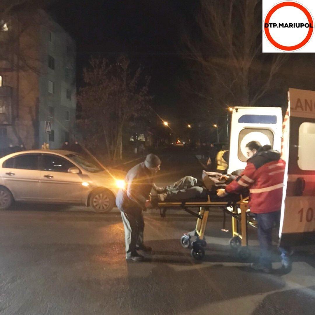 В Мариуполе на пешеходном переходе сбили мужчину, - ФОТО, фото-5