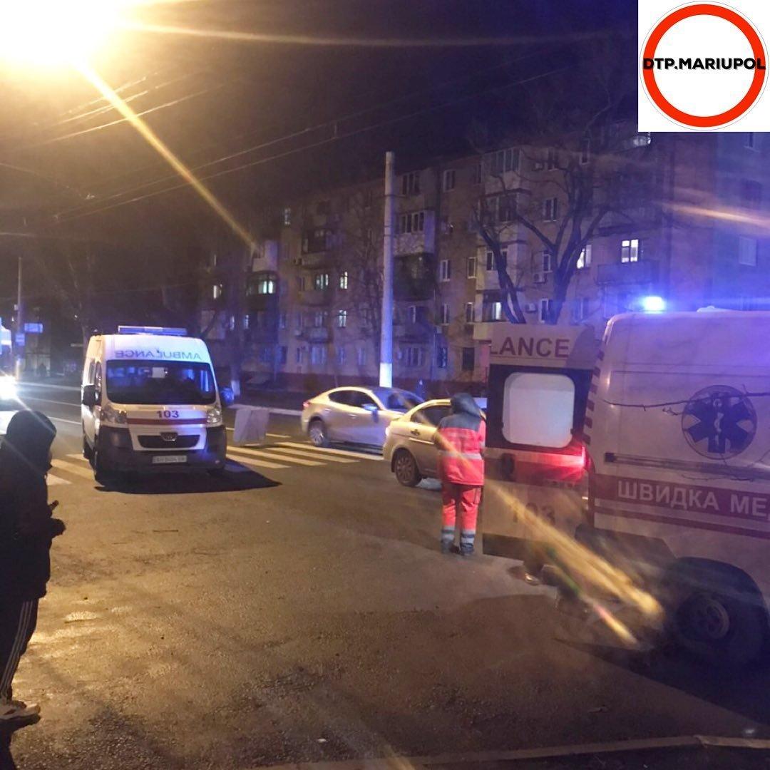 В Мариуполе на пешеходном переходе сбили мужчину, - ФОТО, фото-6
