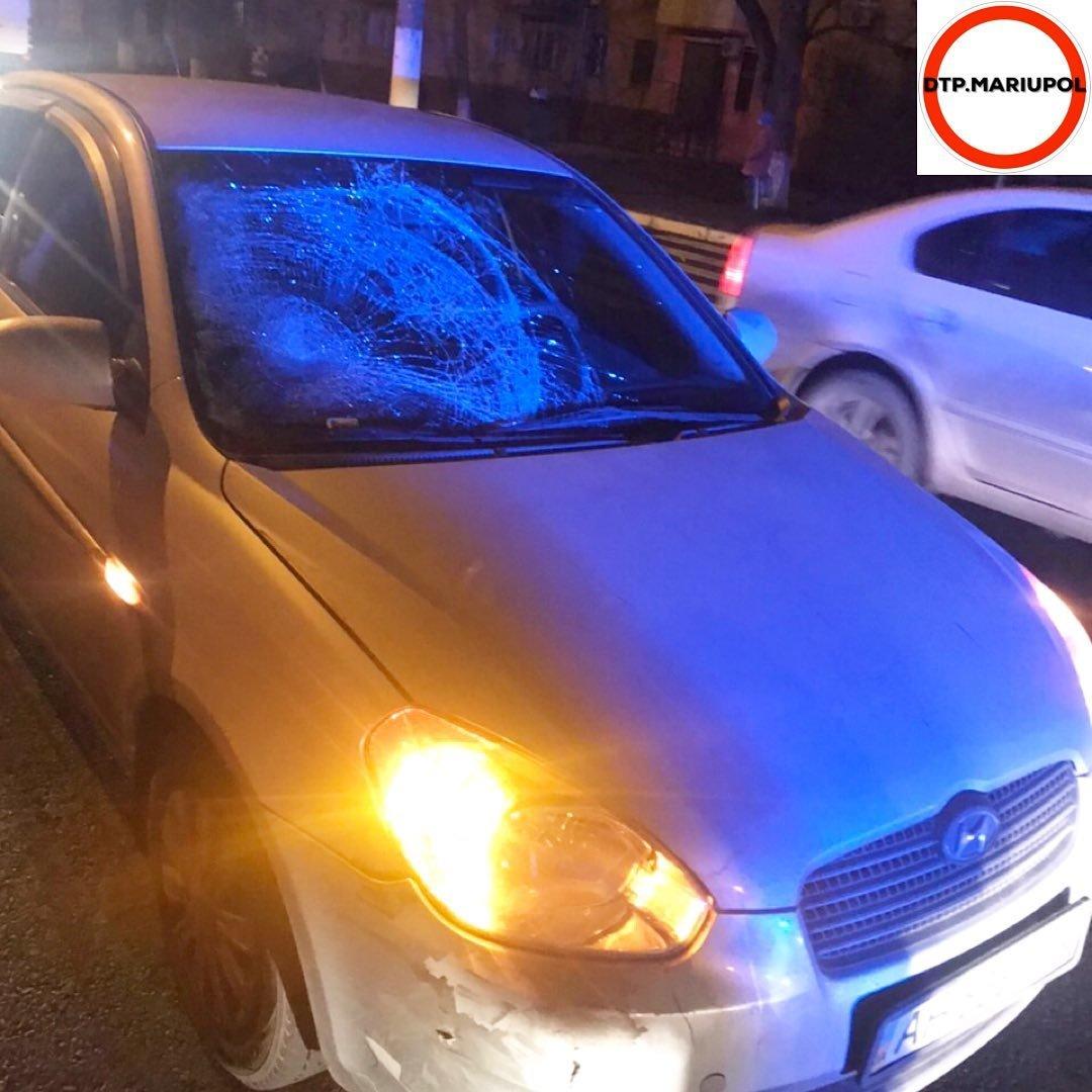 В Мариуполе на пешеходном переходе сбили мужчину, - ФОТО, фото-1