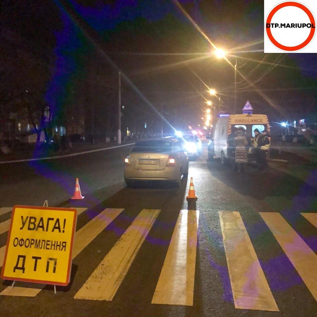 В Мариуполе на пешеходном переходе сбили мужчину, - ФОТО, фото-2