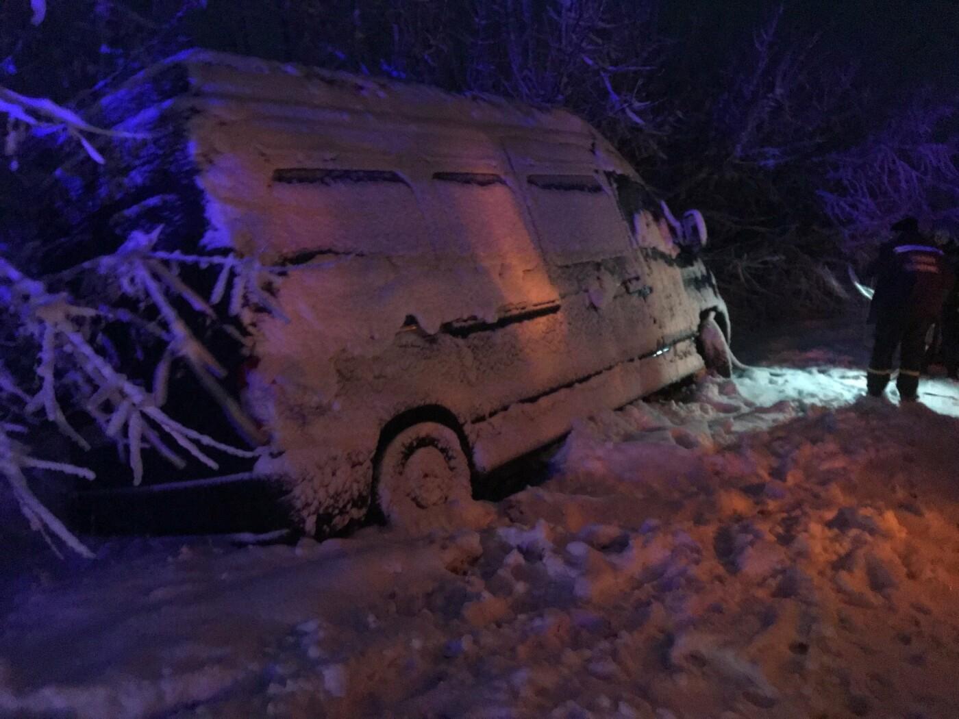 Ситуация на трассах Донецкой области: из снежных заносов спасли 68 человек, - ФОТО, фото-6