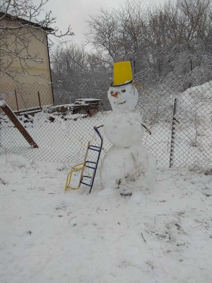 """Мариупольцы представили свои творения на """"Параде  снеговиков"""",- ФОТО, фото-22"""