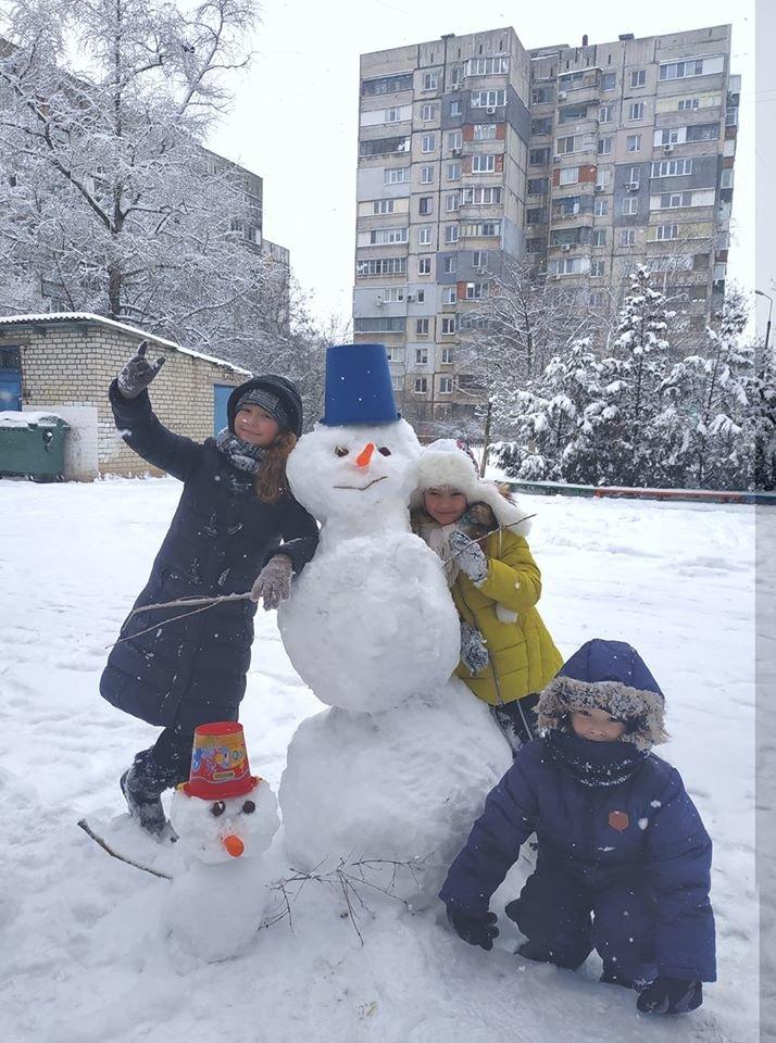 """Мариупольцы представили свои творения на """"Параде  снеговиков"""",- ФОТО, фото-4"""