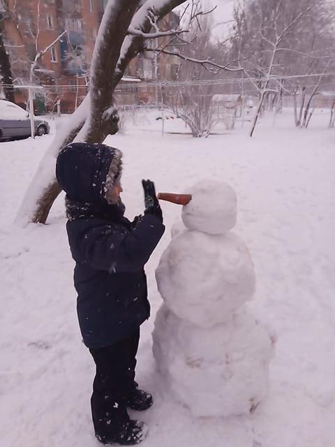 """Мариупольцы представили свои творения на """"Параде  снеговиков"""",- ФОТО, фото-2"""