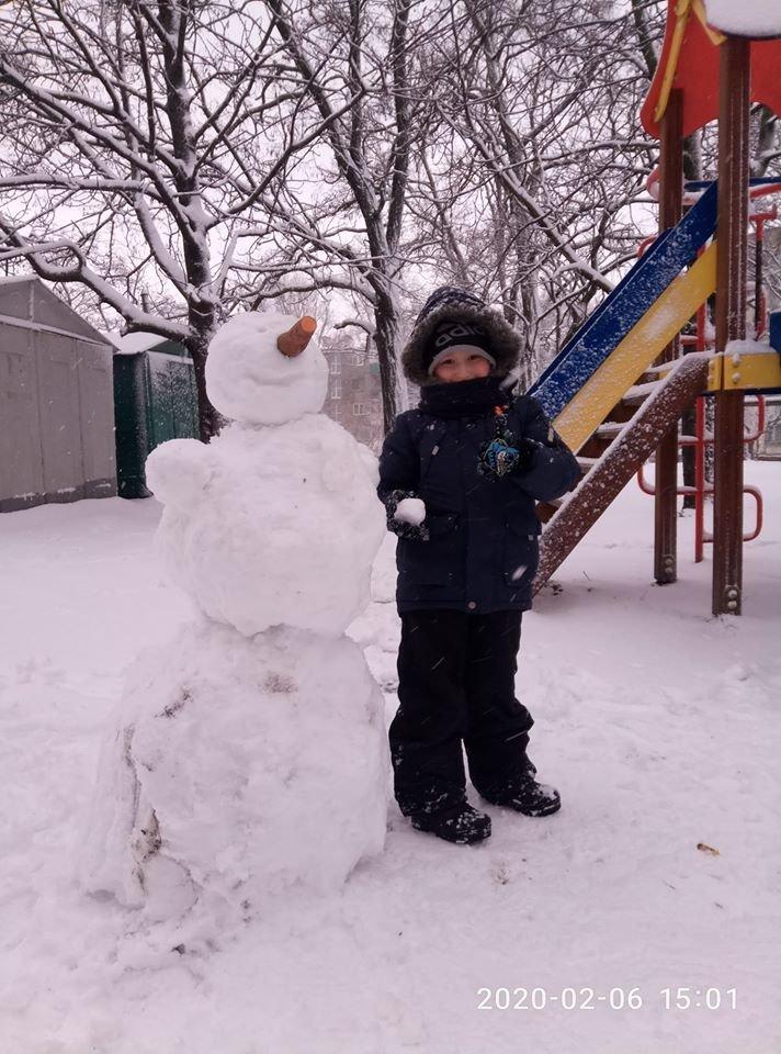 """Мариупольцы представили свои творения на """"Параде  снеговиков"""",- ФОТО, фото-6"""