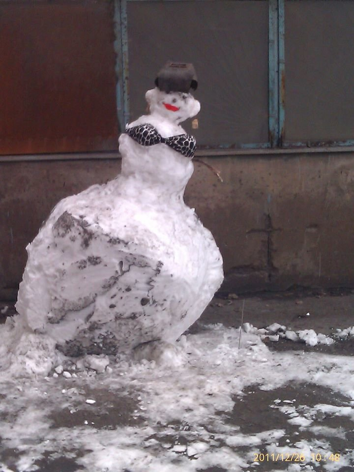"""Мариупольцы представили свои творения на """"Параде  снеговиков"""",- ФОТО, фото-21"""