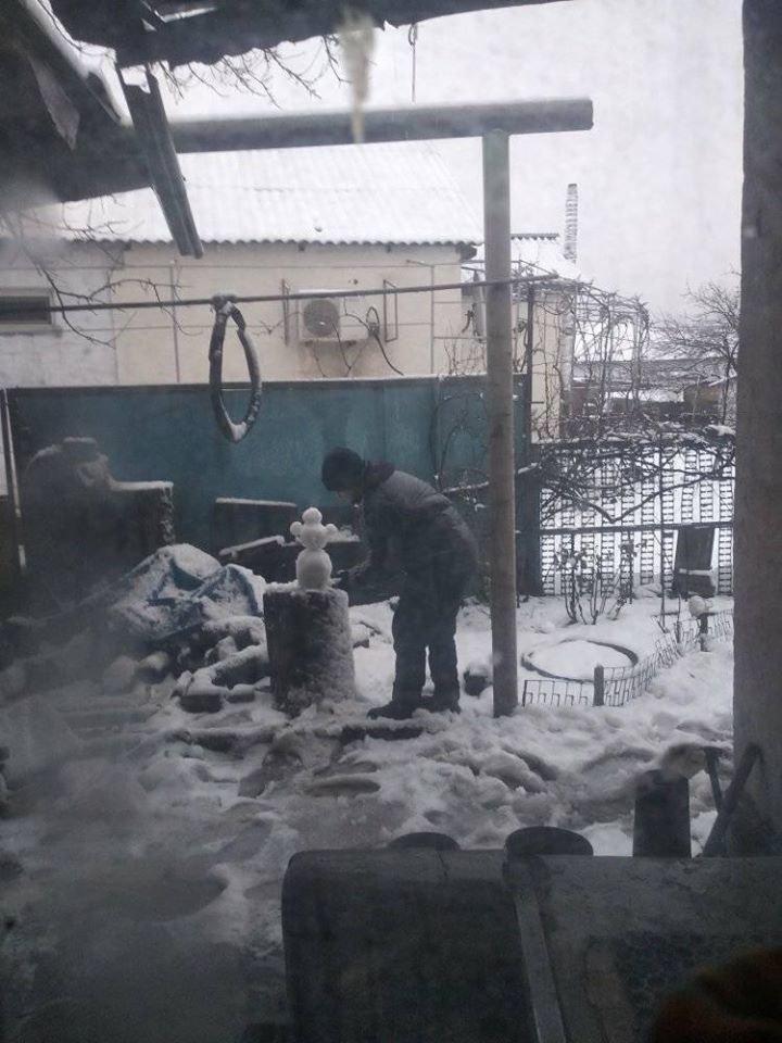 """Мариупольцы представили свои творения на """"Параде  снеговиков"""",- ФОТО, фото-17"""