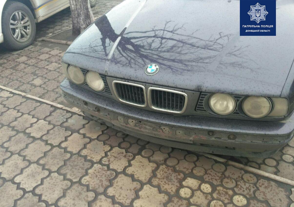 Мариупольские полицейские нашли водителя BMW, который влетел в забор, - ФОТО, фото-1