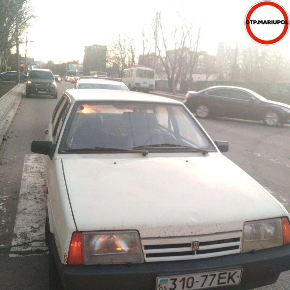 В Мариуполе автомобиль сбил женщину, - ФОТО, фото-1
