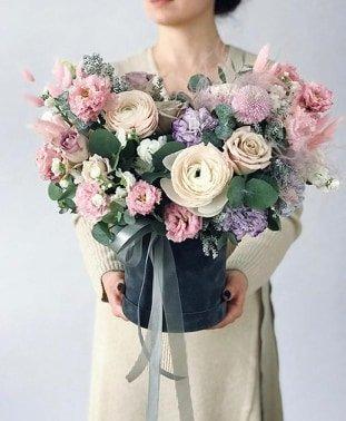 Где можно заказать красивый букет цветов к 8 марта? , фото-10