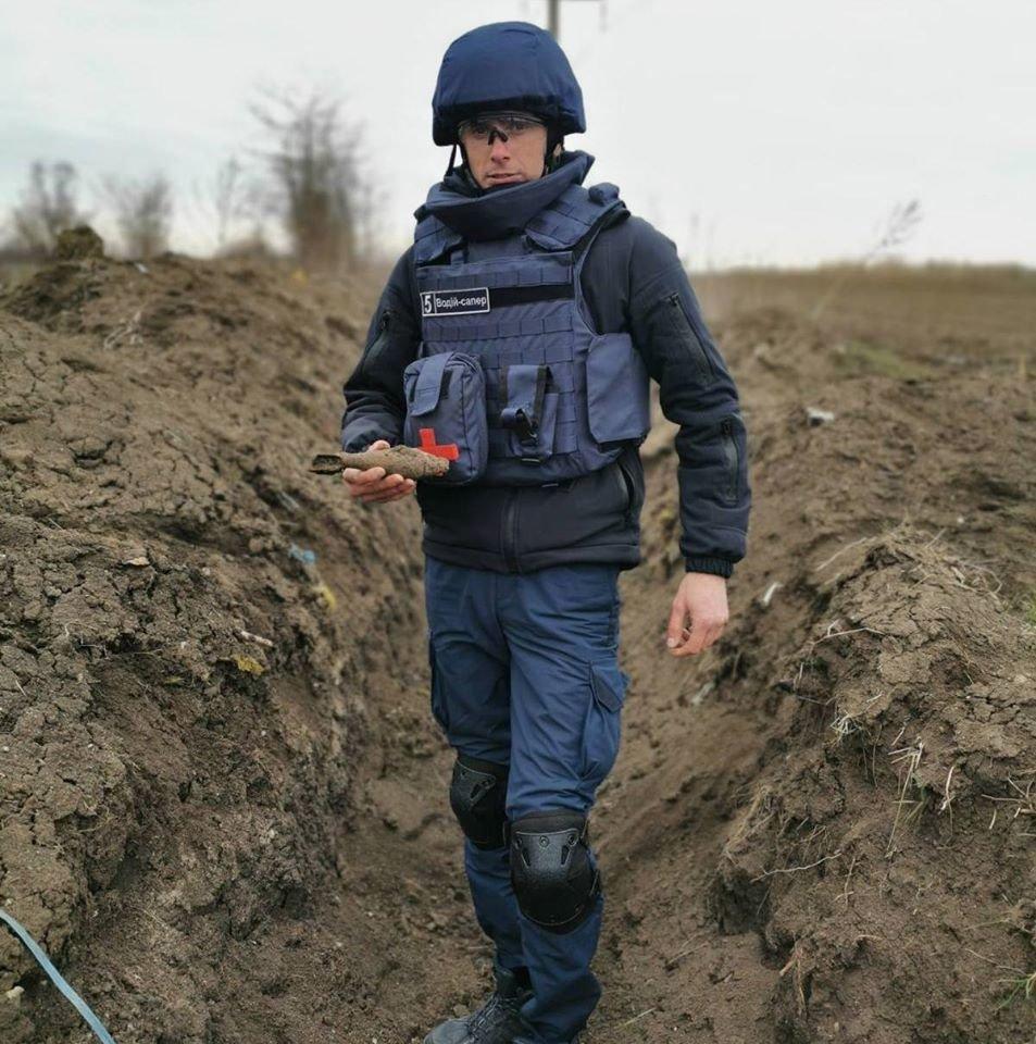 На улице Тополиной нашли минометную мину, фото-2