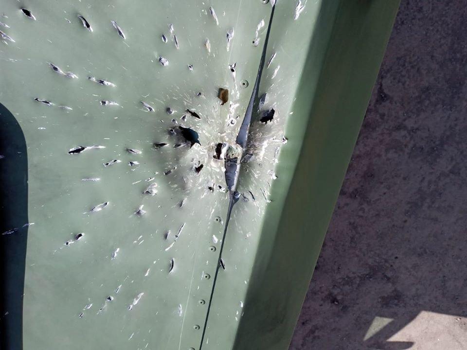 Под Мариуполем противник обстрелял медицинский автомобиль,-ОСС, фото-3