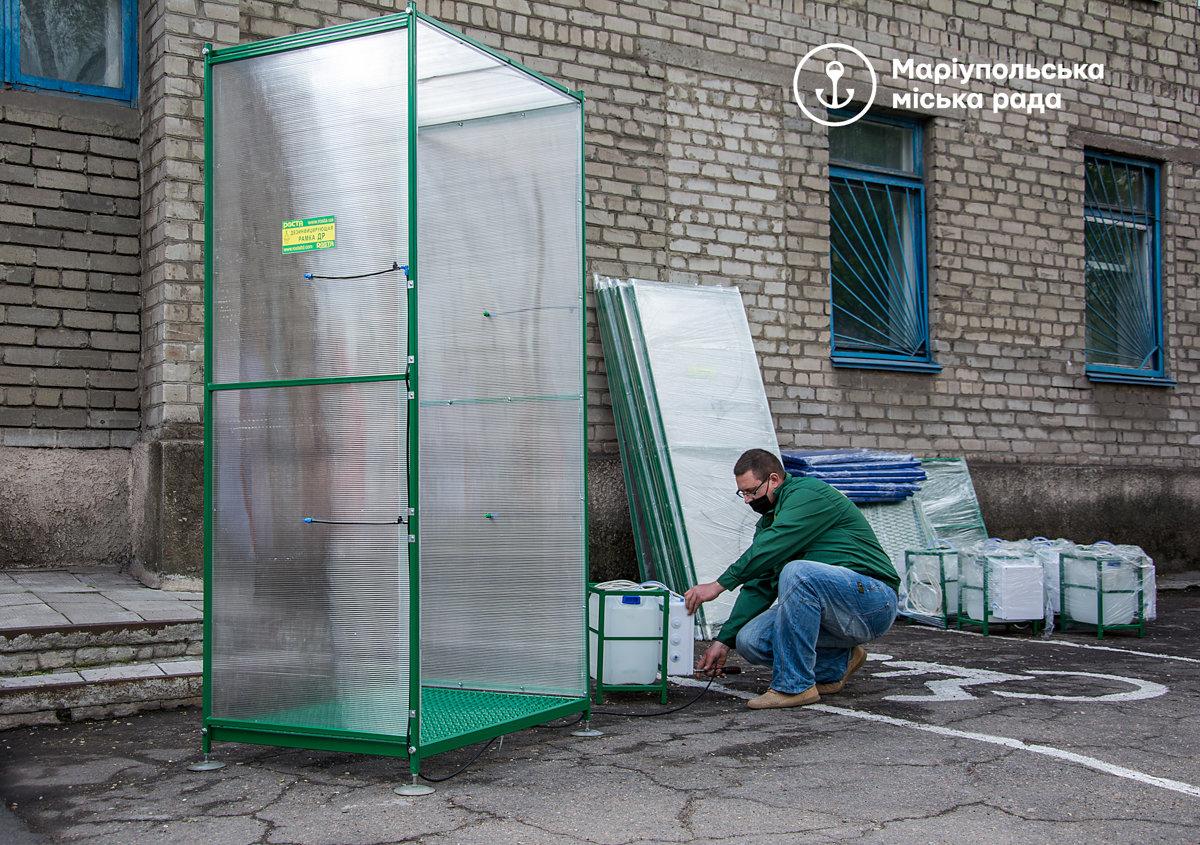 В Мариуполе  для безопасности врачей закупили  специальные рамки,- ФОТО, фото-6
