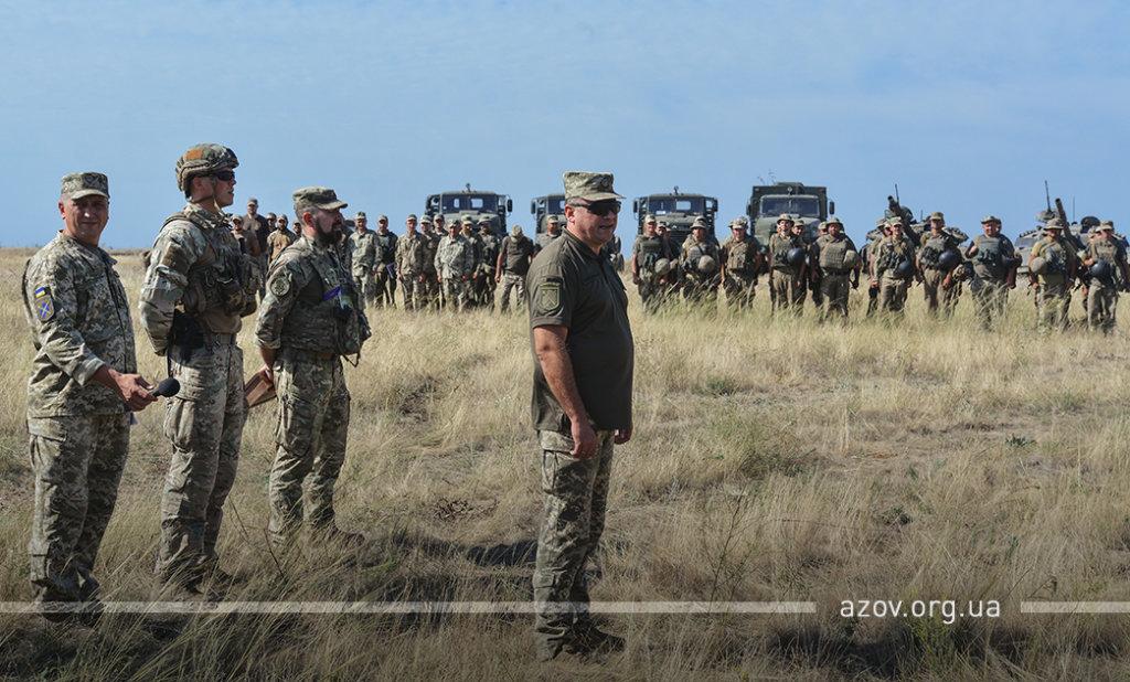 """""""Задача - уничтожить"""". """"Азов"""" и ВСУ  провели учения под Мариуполем, - ФОТО, ВИДЕО , фото-8"""