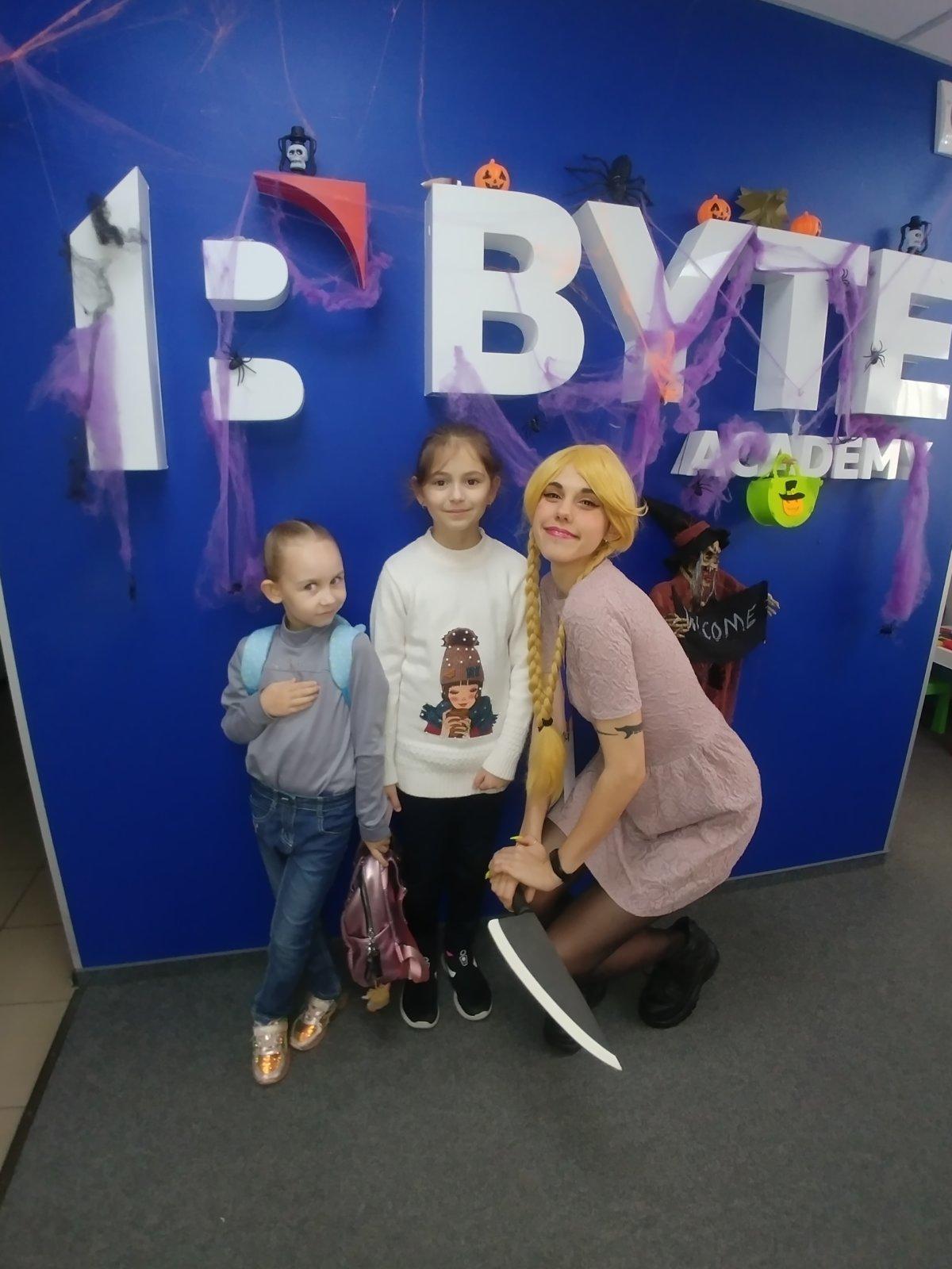 Восторг, актуальные IT-навыки и Хэллоуин - как прошли каникулы в BYTE!, фото-1