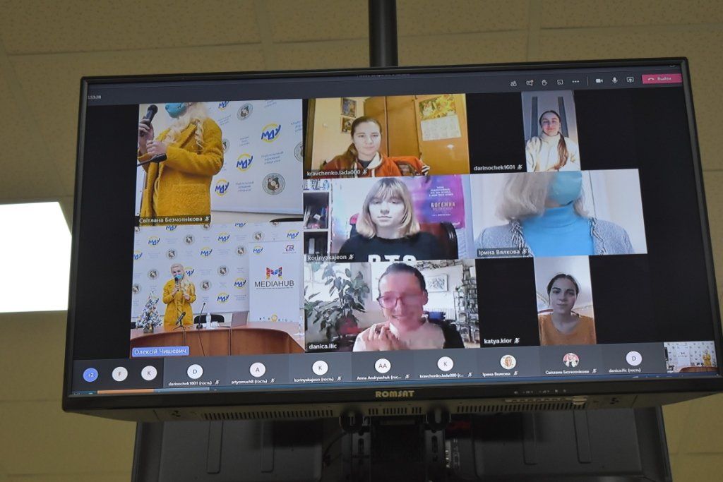 В МГУ молодые журналисты встретились с екс-редактором Всемирной службы новостей BBC, фото-1