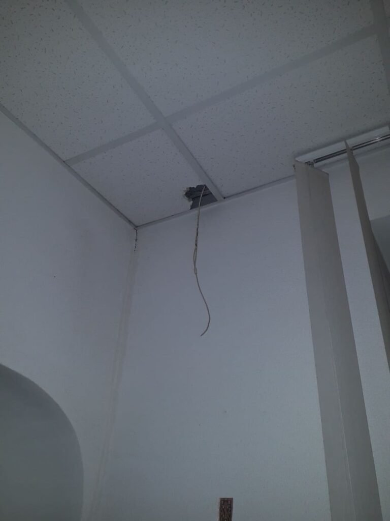 В Маріупольській профспілці невідомі потайки встановили приховану камеру, - ФОТО, фото-1