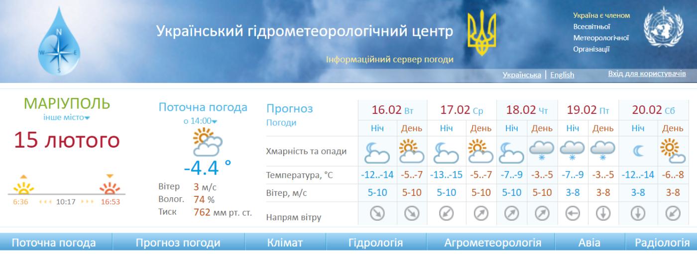 Как долго в Мариуполе продержатся морозы. Прогноз погоды на неделю, фото-1