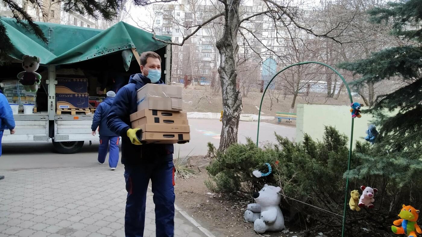 """Компанія """"Епіцентр"""" передала Маріупольському дитячому будинку """"Центр Опіки"""" допомогу, фото-5"""