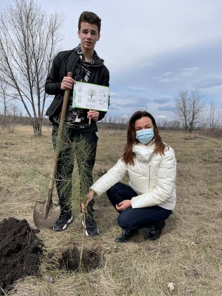 """""""Озеленення планети"""": на Донеччині висадили більше 200 тисяч саджанців (ФОТО), фото-8"""